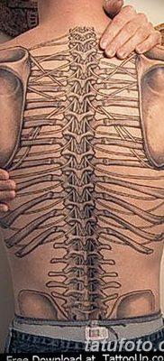 фото тату кости от 23.09.2017 №054 – bone tattoo – tatufoto.com