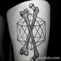 Значение тату кости (часть скелета)
