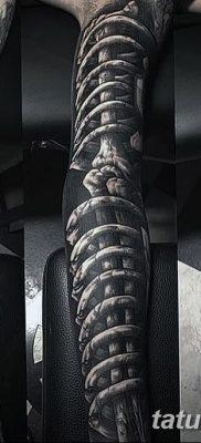 фото тату кости от 23.09.2017 №076 – bone tattoo – tatufoto.com