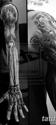 фото тату кости от 23.09.2017 №077 – bone tattoo – tatufoto.com