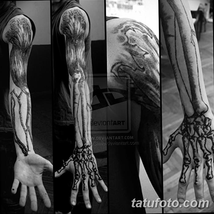обязательно фото тату кости руки последний день