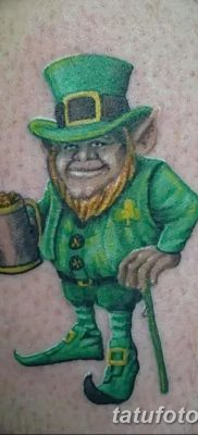 фото тату лепрекон от 15.09.2017 №001 – tattoo leprechaun – tatufoto.com