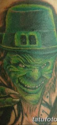 фото тату лепрекон от 15.09.2017 №014 – tattoo leprechaun – tatufoto.com