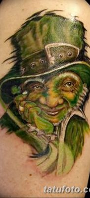 фото тату лепрекон от 15.09.2017 №051 – tattoo leprechaun – tatufoto.com