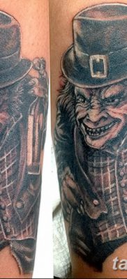 фото тату лепрекон от 15.09.2017 №065 – tattoo leprechaun – tatufoto.com