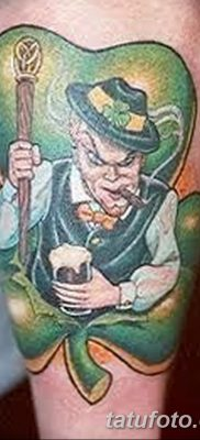 фото тату лепрекон от 15.09.2017 №071 – tattoo leprechaun – tatufoto.com