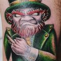 фото тату лепрекон от 15.09.2017 №120 - tattoo leprechaun - tatufoto.com