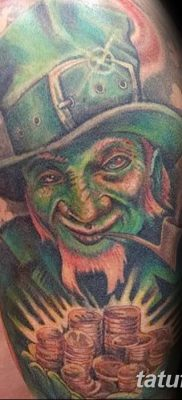 фото тату лепрекон от 15.09.2017 №138 – tattoo leprechaun – tatufoto.com