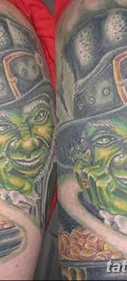 фото тату лепрекон от 15.09.2017 №151 – tattoo leprechaun – tatufoto.com