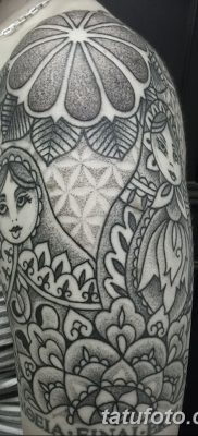 фото тату матрешка от 14.09.2017 №001 – Matryoshka tattoo – tatufoto.com
