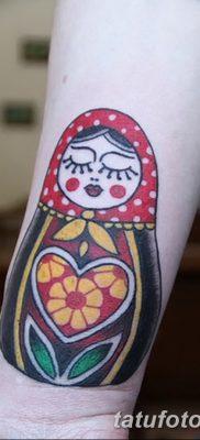 фото тату матрешка от 14.09.2017 №116 – Matryoshka tattoo – tatufoto.com