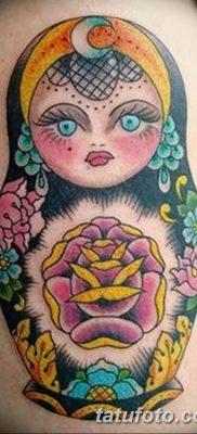 фото тату матрешка от 14.09.2017 №119 – Matryoshka tattoo – tatufoto.com