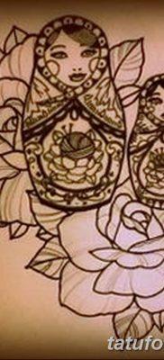 фото тату матрешка от 14.09.2017 №124 – Matryoshka tattoo – tatufoto.com