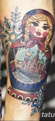 фото тату матрешка от 14.09.2017 №127 – Matryoshka tattoo – tatufoto.com