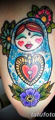 фото тату матрешка от 14.09.2017 №134 – Matryoshka tattoo – tatufoto.com