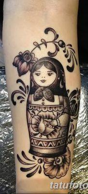 фото тату матрешка от 14.09.2017 №138 – Matryoshka tattoo – tatufoto.com