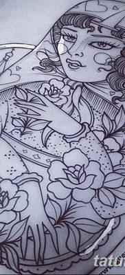 фото тату матрешка от 14.09.2017 №154 – Matryoshka tattoo – tatufoto.com