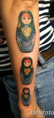фото тату матрешка от 14.09.2017 №156 – Matryoshka tattoo – tatufoto.com