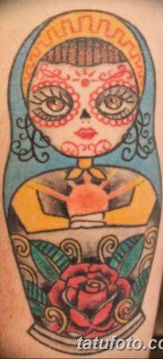 фото тату матрешка от 14.09.2017 №161 – Matryoshka tattoo – tatufoto.com