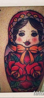 фото тату матрешка от 14.09.2017 №163 – Matryoshka tattoo – tatufoto.com