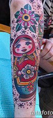 фото тату матрешка от 14.09.2017 №166 – Matryoshka tattoo – tatufoto.com
