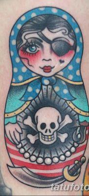 фото тату матрешка от 14.09.2017 №171 – Matryoshka tattoo – tatufoto.com