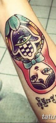 фото тату матрешка от 14.09.2017 №183 – Matryoshka tattoo – tatufoto.com