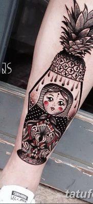 фото тату матрешка от 14.09.2017 №185 – Matryoshka tattoo – tatufoto.com