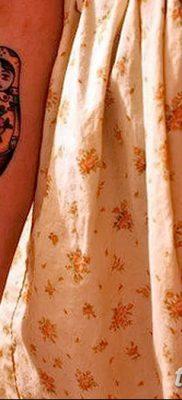 фото тату матрешка от 14.09.2017 №186 – Matryoshka tattoo – tatufoto.com