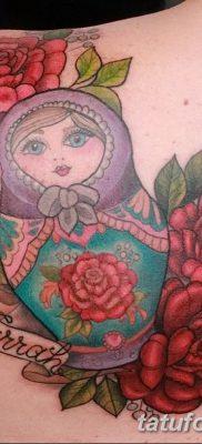 фото тату матрешка от 14.09.2017 №187 – Matryoshka tattoo – tatufoto.com
