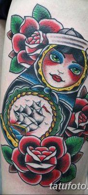 фото тату матрешка от 14.09.2017 №188 – Matryoshka tattoo – tatufoto.com