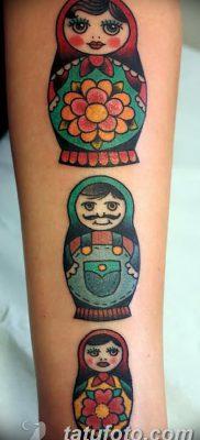 фото тату матрешка от 14.09.2017 №191 – Matryoshka tattoo – tatufoto.com