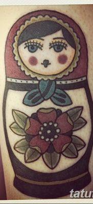 фото тату матрешка от 14.09.2017 №199 – Matryoshka tattoo – tatufoto.com