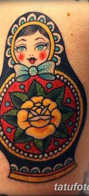 фото тату матрешка от 14.09.2017 №201 – Matryoshka tattoo – tatufoto.com