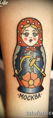 фото тату матрешка от 14.09.2017 №202 – Matryoshka tattoo – tatufoto.com