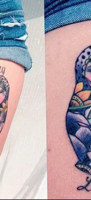фото тату матрешка от 14.09.2017 №205 – Matryoshka tattoo – tatufoto.com