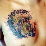 фото тату носорог от 29.09.2017 №017 - rhino tattoo - tatufoto.com