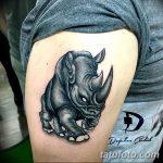 фото тату носорог от 29.09.2017 №022 - rhino tattoo - tatufoto.com