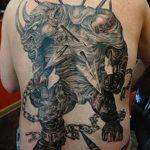 фото тату носорог от 29.09.2017 №035 - rhino tattoo - tatufoto.com