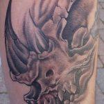 фото тату носорог от 29.09.2017 №043 - rhino tattoo - tatufoto.com