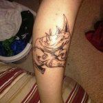 фото тату носорог от 29.09.2017 №049 - rhino tattoo - tatufoto.com