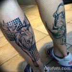 фото тату носорог от 29.09.2017 №053 - rhino tattoo - tatufoto.com