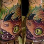 фото тату носорог от 29.09.2017 №068 - rhino tattoo - tatufoto.com
