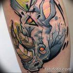 фото тату носорог от 29.09.2017 №070 - rhino tattoo - tatufoto.com