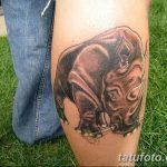 фото тату носорог от 29.09.2017 №078 - rhino tattoo - tatufoto.com