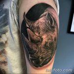 фото тату носорог от 29.09.2017 №098 - rhino tattoo - tatufoto.com