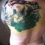 фото тату носорог от 29.09.2017 №108 - rhino tattoo - tatufoto.com