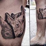 фото тату носорог от 29.09.2017 №133 - rhino tattoo - tatufoto.com