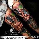 фото тату носорог от 29.09.2017 №146 - rhino tattoo - tatufoto.com