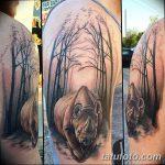 фото тату носорог от 29.09.2017 №152 - rhino tattoo - tatufoto.com